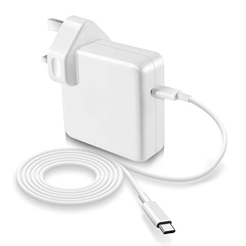 61w USB C Power adapter compatible with Macbook Pro USB C Charger,replacement charger for new macbook Air 2018,work with other USB C device