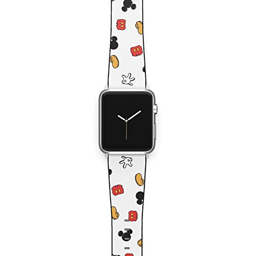 Watch Band Compatible with Apple iWatch All Series 38mm 40mm 42mm 44mm Cartoon Design Strap (mickm2) (38/40mm)