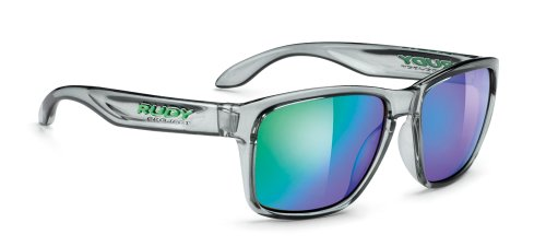 Rudy Project Spinhawk Glasses Crystal Ash/Multilaser Green 2017 Fahrradbrille