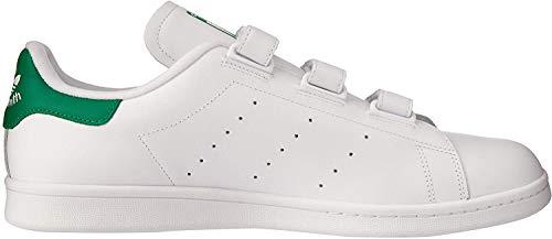 adidas Stan Smith Cf - Zapatillas de running Hombre, Blanco (Ftwr White), 48