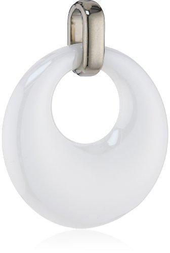 Boccia Damen-Anhänger Titan Keramik weiß 0783-01