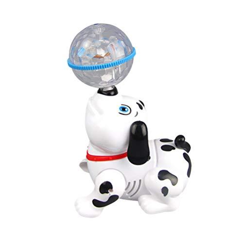 TOYANDONA Roboter Hundespielzeug Elektrisches Tanzspielzeug Mini Haustier Welpe mit Lichtern Und Musik für Kinder Kinder Kleinkinder ohne Batterie