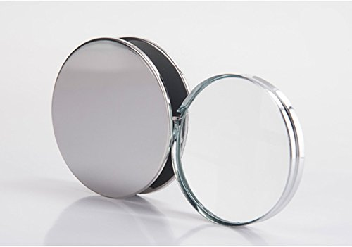 Mini Pocket Magnifier 20X Foldable Handheld Jewelry Loupe with Metal Protective Case Reading Magnifying Glasses for Small Prints,Coins,Science,Low Vision,Gift for Seniors and Kids