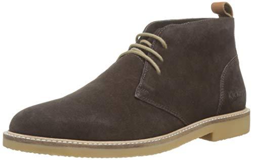Kickers Tyl, Zapatos de Cordones Derby para Hombre, Marrón (Marron Fonce Perm 92), 43 EU