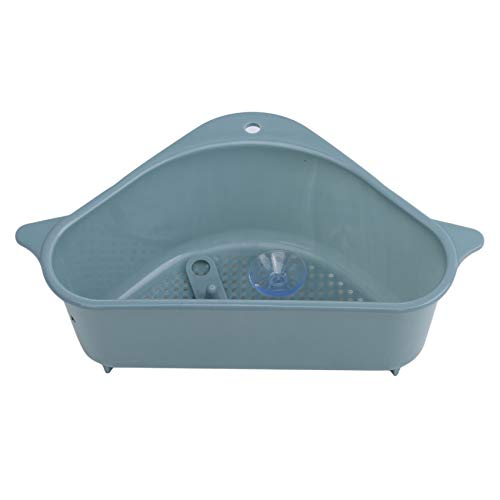 unknow YiYour Triangular Drain Shelf Sink Siebkorb für Support Corner Rack,Blau