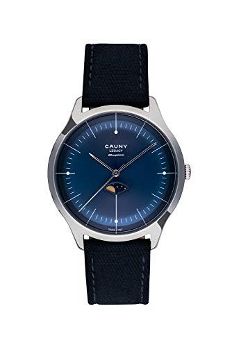 CAUNY Relojes de Pulsera para Hombres CLM004