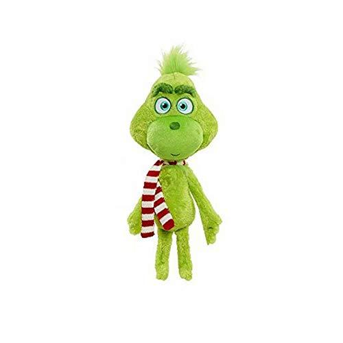 BeeUgy Kinder Die Grinch Spielzeug Weihnachten Spielzeug Grinch Hund Plüsch Geschenk Set Weiche Kreative Puppe Kuscheltiere Plüschtier Grinch Geschenk für Weihnachten Geburtstag