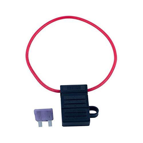 BLUEWATERLED Inline Fuse Holder - 3 amp Fuse