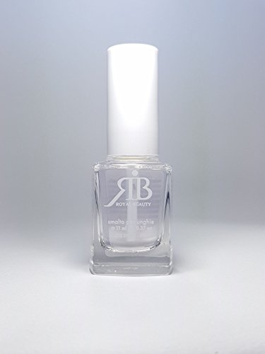ROYAL BEAUTY Vernis à ongles n°35 Top Coat brillant + base 11 ml, fabriqué en Italie.