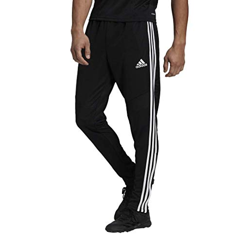 adidas Men's Standard Tiro 19 Pants, Black/White, Medium