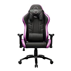 Purple and Black Gaming Chair