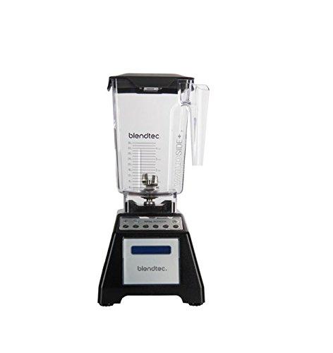 Blendtec Total Classic Original Blender - WildSide plus Jar (90 oz) - Professional-Grade Power - 6 Pre-programmed Cycles - 10-speeds - Black (Renewed)