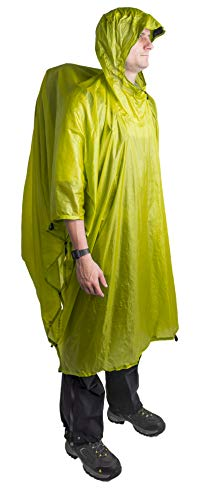 Sea to Summit Ultra-SIL NanoTarp-Poncho (Lime)