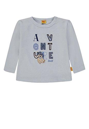 Steiff Steiff Baby-Jungen T-Shirt 1/1 Arm Langarmshirt, Blau (Skyway|Blue 3018), 80