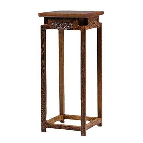 Stand dell'esposizione della pianta di legno del salone del salone del salone del fiore del fiore del fiore del fiore del pollo dell'ala di legno del pavimento antico di Bonsai del pavimento antico