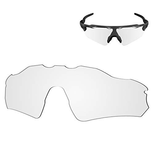 Galvanic Replacement Lenses for Oakley Radar EV Path OO9208 Sunglasses - Clear Non-Polarized