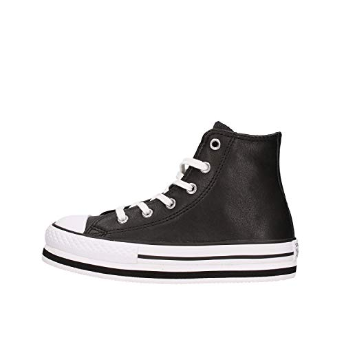Converse Chuck Taylor All Star 2V, Zapatillas Niñas, Negro, 29 EU