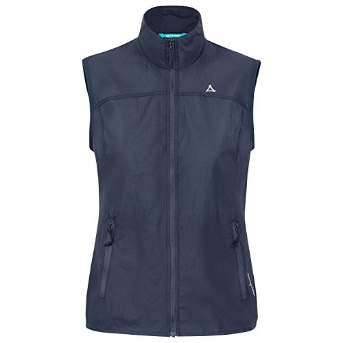 Schöffel Damen Windbreaker 1 Weste, Dress Blues, 44