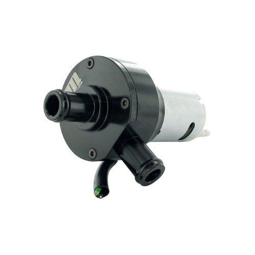 Bomba de Agua eléctrica Moto Force Racing, Universal 12V, 15mm diámetro de la conexión, Negro