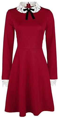 Hell Bunny Ricci Dress Frauen Kurzes Kleid rot M