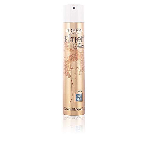 L'Oréal Expert Elnett Satin Laca Fijación Fuerte - Laca, 400 ml