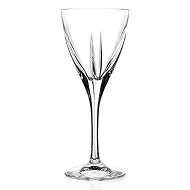 Lorren Home Trends Logic Liquor Glass (Set of 6), Clear