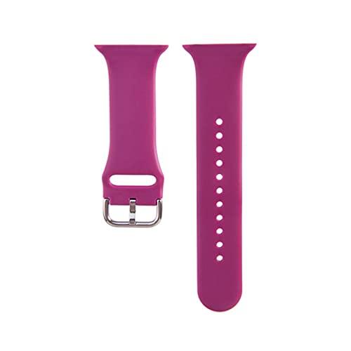 Impresión de correa de reloj para Apple Watch iWatch Series 5 4 3 2 1 correa 38 mm 40 mm 42 mm 44 mm Flor floral Correa de pulsera de silicona TPU