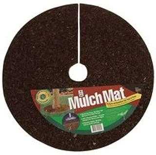 A.M. Leonard Recycled Rubber Mulch Mat Tree Ring - 3 Foot Diameter