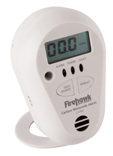 Firehawk CO7BD Koolmonoxide / Gas Melder met LCD Display