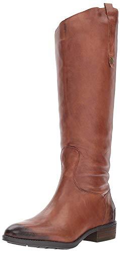 Sam Edelman Women's Penny Equestrian Boots, Whiskey, 9.5 M US