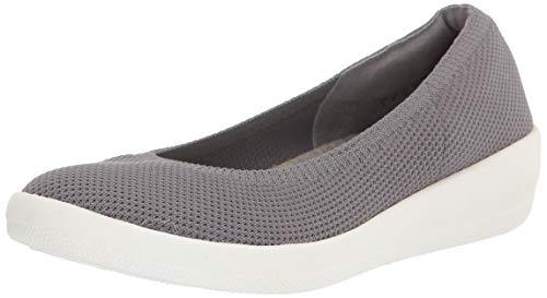Amazon Essentials Knit Ballet with Sport Outsole Footwear, Gris, 35 EU