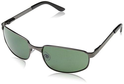 Eyelevel Valencia Gafas de sol, Gris (Gunmetal), 55 para Hombre