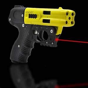 JPX LE Pepper Spray Gun with LED Laser