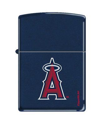 Zippo Lighter MLB Los Angeles Angels Navy Matte