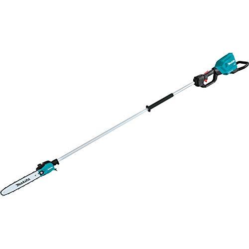"Makita XAU01ZB, 8' Length, Tool Only 36V (18V X2) LXT Brushless 10"" Pole Saw, Teal"