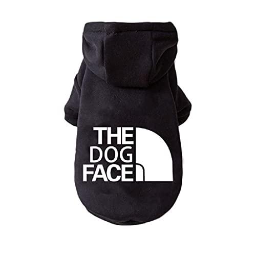 HFangWang Abrigo cálido con capucha para perro, mono para mascotas, chaqueta de algodón, jersey, ropa de exterior, ropa de invierno, abrigo con capucha, ropa para perro (XS - 9XL)