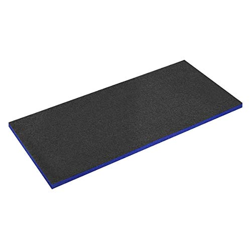 Sealey SF30B Easy Peel Shadow Schaumstoff-Schattenpapier, 1200 x 550 x 30 mm, Blau/Schwarz