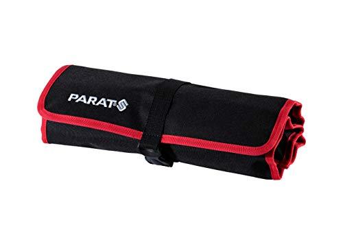 PARAT Werkzeugtasche Basic Roll-Up Case (12 Einsteckfächer, Nylon, mit Steckverschluss, 54x33x0,5 cm) 5990827991, schwarz