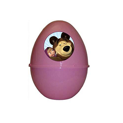uova di pasqua masha e orso UltràCart Masha E Orso Super PASQUALONE SORPRESONE Uovo di Pasqua Contenitore con Gadget