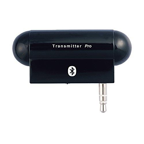 AleadTxProBluetoothワイヤレスマルチリンクステレオオーディオトランスミッタ(A2DP)3.5mmオーディオプラグ、Zune、禅、サンシャ、MP3プレーヤー、テレビ、カーステレオ、ホームステレオ