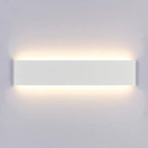 lampada a muro Yafido Applique da Parete Interno Moderno LED 40CM Lampada da Parete 16W Bianco Caldo Lampada da Muro Perfetto per Camera da Letto Soggiorno Corridoio Bagno Scale
