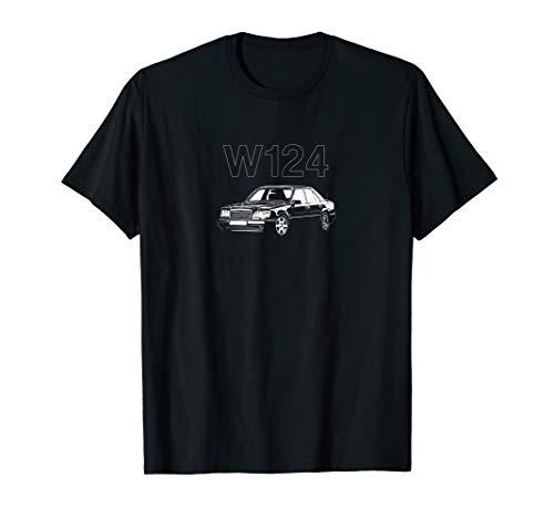 W124 230E 280E Oldtimer Retro Classics Deutsches Auto T-Shirt
