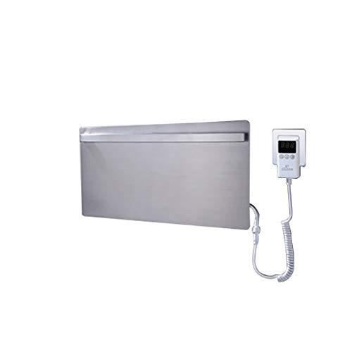 Toalla eléctrica termostática Toallero Barra de Toalla Fibra de Carbono Baño Radiador...