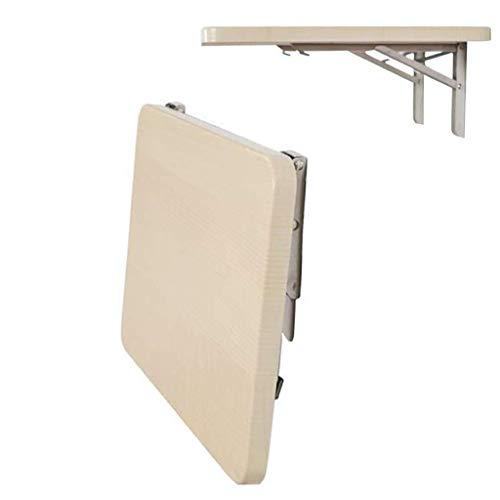 Aan de muur bevestigde klap tafel Klaptafel muur hangen tafel, ruimtebesparend opslag rack, for kleine ruimte thuiskantoor keuken massief houten eettafel computertafel ruimtebesparend
