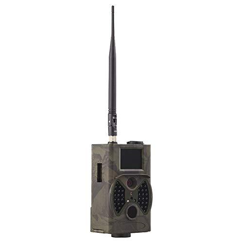 GZSC Jagdkamera 16MP Fotofallen E-Mail MMS GSM 1080P Nachtsicht-Jagdfallen HC300M Wilde Jagdkamera Trail Camera Wildlife Camera Hunt (Color : HC 300M Camera)