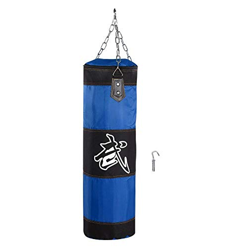 FOLOSAFENAR Boxsack für Kinder, Oxford Shell, ungefüllter Hängetraining Fitness-Boxsack, für Krafttraining, Fitness-Muskeltraining(80cm Hollow Buy one get Two Free)