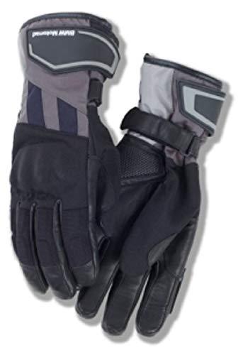 BMW Guantes para motocicleta GS Dry para hombre, color negro y azul, talla 8-8,5