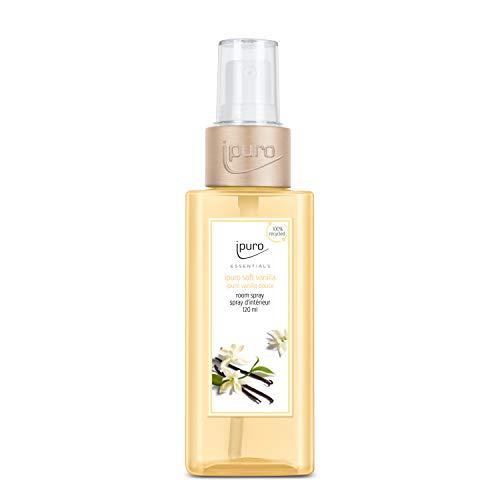 Ipuro, ESSENTIALS soft vanilla Raumspray ml, Transparent, 120 ml