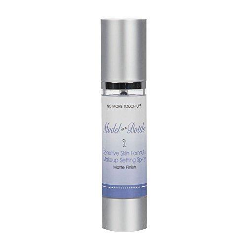 Model in a Bottle Makeup Setting Spray for Sensitive Skin, Matte Finish 1.7oz