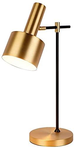 Lievevt Lámpara Escritorio Lámpara de Mesa LED lámpara de Noche de Dormitorio lámpara de Mesa de decoración de Hardware de Oficina de Hotel Minimalista Moderna